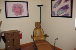 fna clinic patient chair